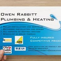 Owen Rabbitt Plumbing and Heating